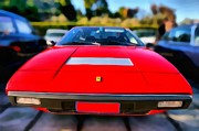 Old Prints - Ferrari 208 Print by George Atsametakis