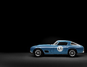 Car Posters Posters - Ferrari 250 GT Berlinetta 1956 Poster by Sanely Great