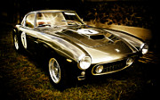 Phil Motography Clark Metal Prints - Ferrari 250 GT SWB Metal Print by Phil 