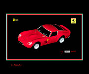 Ferrari Gto Photos - Ferrari 250 GTO by George Rossidis