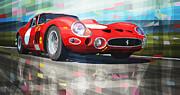 Ferrari 330 Gto 1962 Print by Yuriy Shevchuk