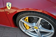 Drum Horse Photos - Ferrari 458  by Paul Wesson