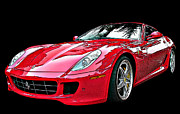 Sheats Framed Prints - Ferrari 599 GTB Fiorano Framed Print by Samuel Sheats