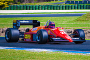 Formula 1 Photos - Ferrari at Phillip Island by Stuart Row