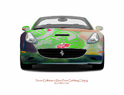 Beer Photo Originals - Ferrari California Carlsberg Esbjerg by Jan Faul
