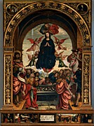 Sepulcher Prints - Ferrari Defendente, Our Lady Print by Everett