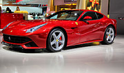 Rcnaturephotos Photos - Ferrari F12 Berlinetta    by Rachel Cohen