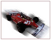 Formula One Photos - Ferrari Formula One by Tom Griffithe