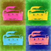 Ferrari Front Pop Art 3 Print by Irina  March