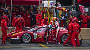 Ferrari Of Vancouver Print by Bill Linhares