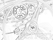 Ferrari Gto Photos - Ferrari Wheel by Gennaro Orlando