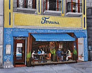 Ferreira Cafe  Print by Reb Frost