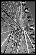 Susan Cliett - Ferris Wheel in Black...