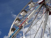 Mechanics Photo Originals - Ferris Wheel by Melissa McCrann