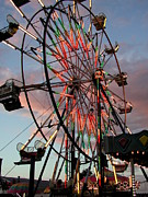 Cindy Wright Photos - Ferris Wheel Sky by Cindy Wright