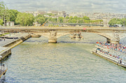 Elaine Teague - Ferry on the River Seine...