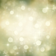 Backdrop Digital Art - Festive bokeh background by Mythja  Photography
