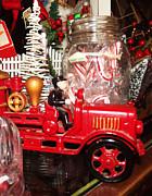 Cindy Nunn - Festive Fire Engine