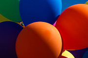 Party Balloons Prints - Festive Mood - Featured 2 Print by Alexander Senin