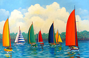 Hugh Harris - Festive Regatta II