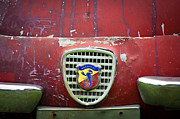 Photographs Framed Prints - Fiat Grille Emblem Framed Print by Jill Reger
