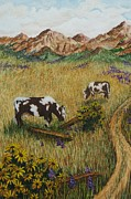 Katherine Young-Beck - Field Cows