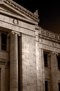 History Originals - Field Museum of Chicago BW Number 2 by Steve Gadomski