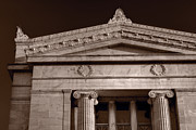 Building Originals - Field Museum of Chicago BW by Steve Gadomski