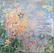 Mixed Media Art Paintings - Field Of Dreams by Donna Blackhall