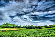 Landscape Photograph Posters - Field of Dreams One Poster by Steven Ainsworth