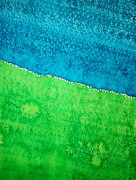 Field Of Dreams Original Painting Print by Sol Luckman