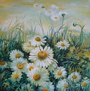 Elena Oleniuc - Field of flowers