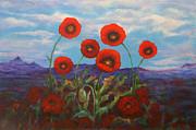 Kathy Peltomaa Lewis - Field of Poppies