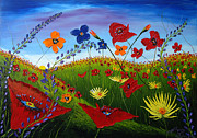 James Dunbar - Field Of Wildflowers 5