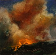 Wildfire Paintings - Fierce Allure by Lissa Bockrath