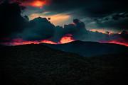 John Haldane - Fiery Sunrise on the...