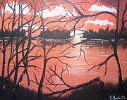Christy Burkett - Fiery Sunset