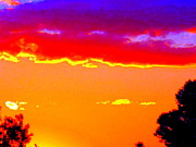 Australia Digital Art - Fiery sunset by Roberto Gagliardi