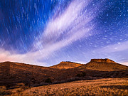 Star Trails Prints - Fifteen Print by Bryce Bradford