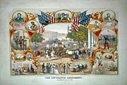 15th Amendment Prints - Fifteenth Admendment Print by Jost Houk