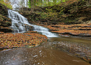 Fifth Falls Print by Lori Deiter