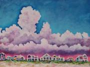 Florida Paintings - Fifty Percent Chance by Eve  Wheeler