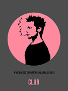 Fight Club Poster 1 Print by Irina  March