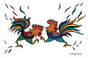 Nonna Mynatt - Fighting Roosters