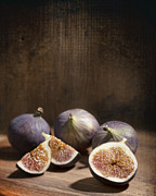 Halved Framed Prints - Figs Framed Print by Christopher and Amanda Elwell