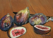 Figs Prints - Figs Print by Marion Derrett