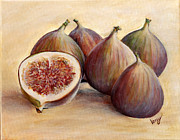 Figs Painting Prints - Figs Print by Veny Arsenov