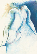 Figurative Abstract Print by Melinda Dare Benfield
