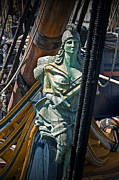 Randall Nyhof - Figurehead on the bow of the Sailing Ship The Star of India