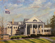 Fraternity Painting Prints - Fiji Fraternity House IU Indiana University Print by Steve Haigh